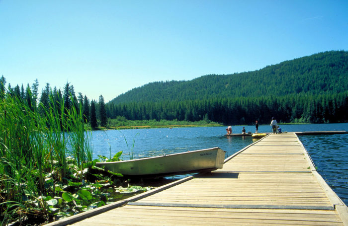 6 campgrounds where you don 39 t need reservations in idaho for Plenty of fish boise