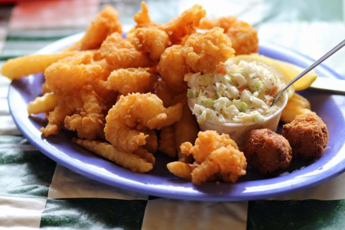 Can Try Doc S Famous Fried Shrimp For Starters You Can Order It As Part Of Their Dinner Option Which Includes Your Choice Of Fries Or Baked Potato