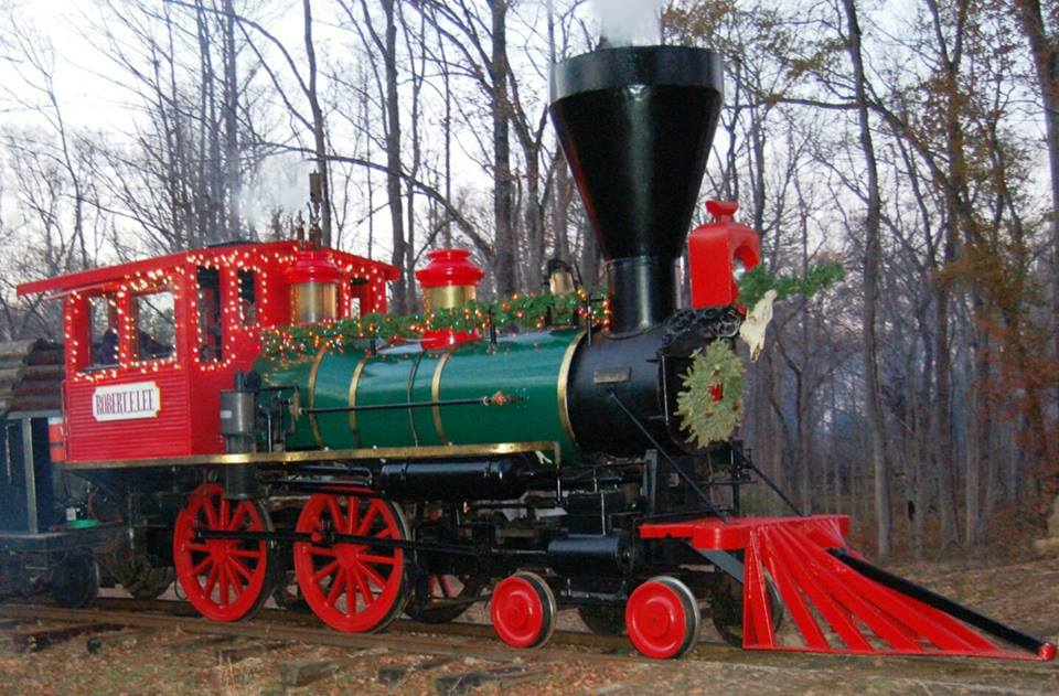 9 Of The Best Themed Train Rides In Texas