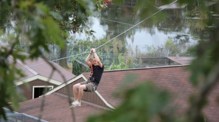 Try A Treetop Obstacle Course And Zipline At The Richmond