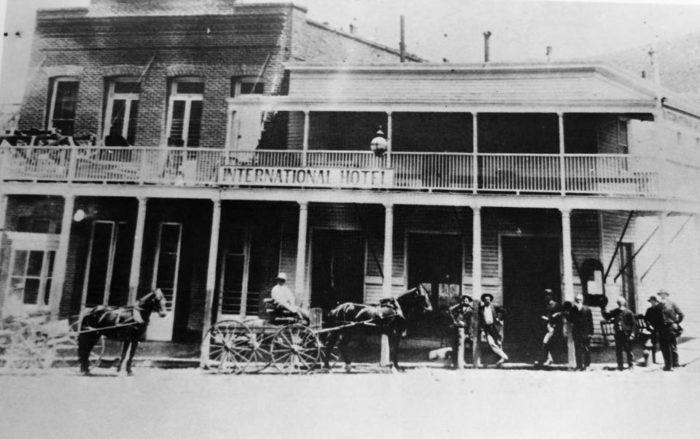 International Hotel Circa 1880s