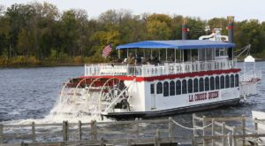 A Cruise On This Authentic Wisconsin Paddleboat Is Picture Perfect for A Summer Evening