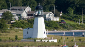 The Longest Standing Lighthouse In Rhode Island Will Take Your Breath Away