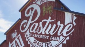 Enjoy The Freshest Lunch Possible At This Big Red Barn Restaurant In Kentucky