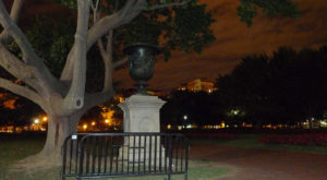 The Sinister Story Behind This Popular Washington DC Park Will Give You Chills