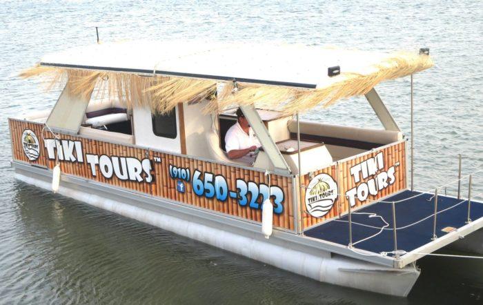 Take A Tiki Time Cruise Topsail Island North Carolina