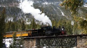 This Dreamy Train-Themed Trip Through Colorado Will Take You On The Journey Of A Lifetime