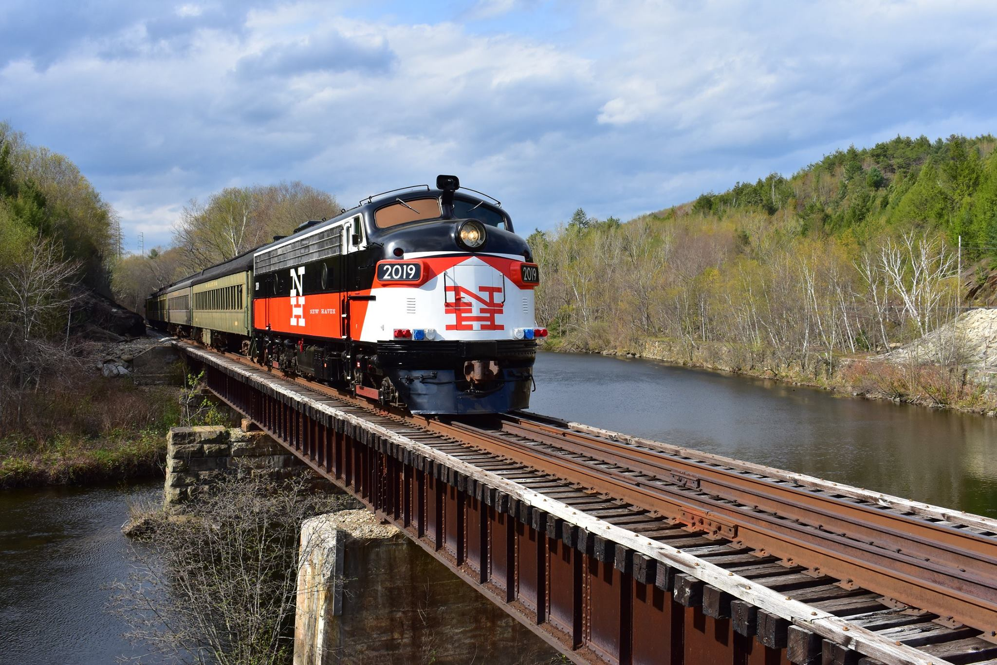 Ride Antique Trains At These 5 Rail Museums In Connecticut