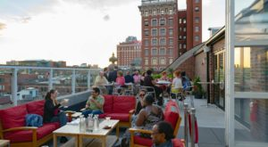 Dine Above The Skyline At This Amazing Rooftop Restaurant In Rhode Island