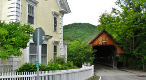 The Sinister Story Behind This Popular Vermont Town Center Will Give You Chills