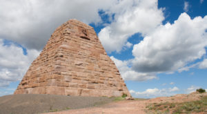 Most People Don't Know About This Unusual Pyramid Hiding In Wyoming