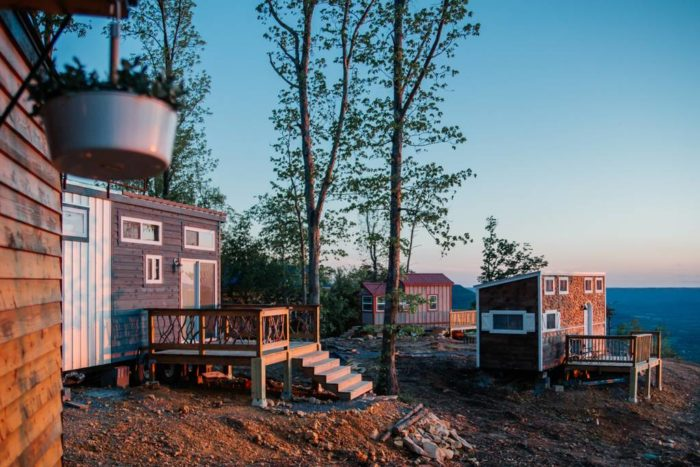 The Alpha Tiny House Overlooks Bluff Of Lookout Mountain Just A Ten Minute Drive To Famed Cloudland Canyon Or Ruby Falls