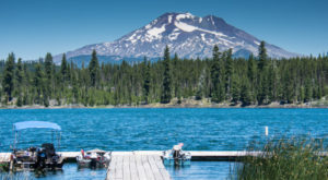 This Volcano Rimmed Lake In Oregon Is The Perfect Place For A Summer Adventure