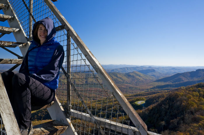 Hike To Fryingpan Mountain Lookout Tower North Carolina