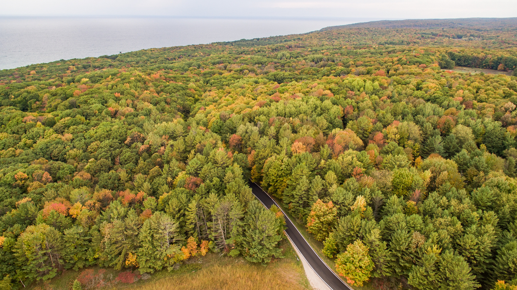 9 Best Scenic Backroads In Michigan