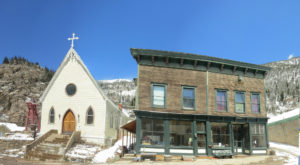 Most People Don't Know The Story Behind The Colorado Ghost Town That Never Died