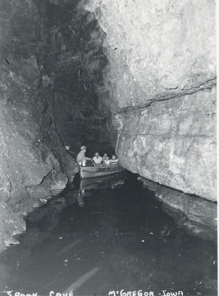 spook cave has the epic underground boat tour in iowa you