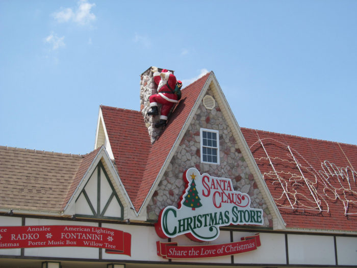 It S Always Christmas In The Town Of Santa Claus Indiana