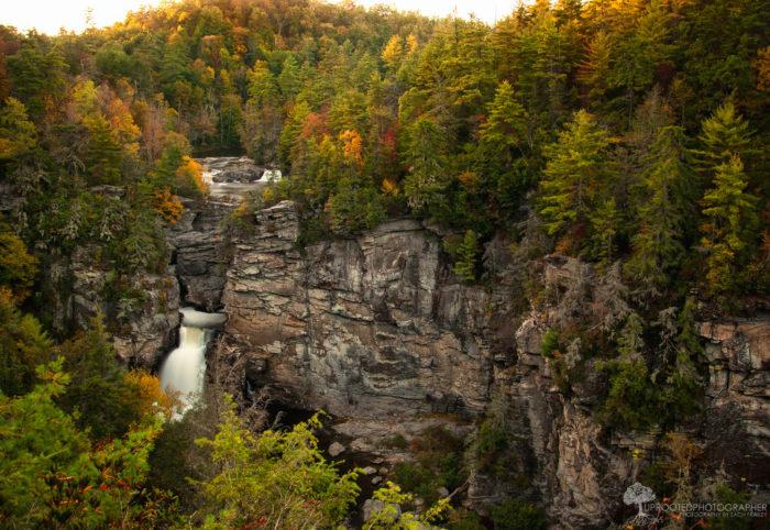 Visiting Linville Falls in Linville Gorge North Carolina