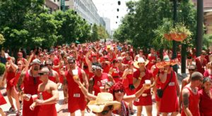 You Won't Want To Miss The Epic Red Dress Run In New Orleans This Year