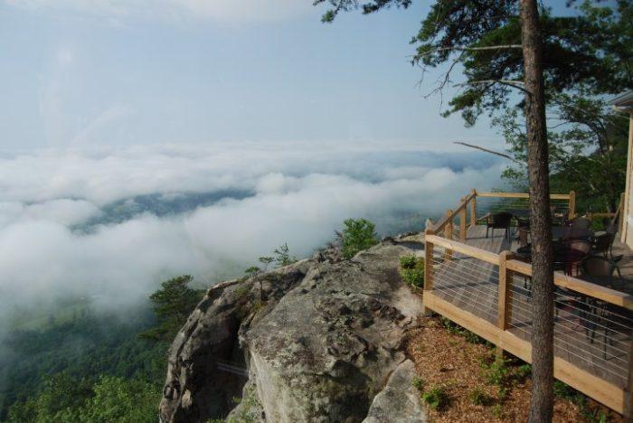 Mccloud Mountain Restaurant Is The Best Cliffside