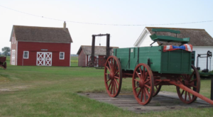 There's Only One Remaining Bonanza Farm In All Of North Dakota And You Need To Visit