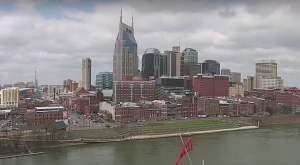 Someone Flew A Drone High Above Nashville And Captured The Most Breathtaking Footage