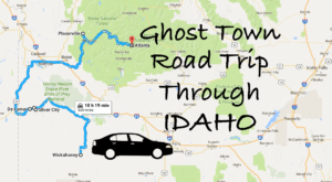 A Haunting Road Trip Through Idaho Ghost Towns To Take If You Dare