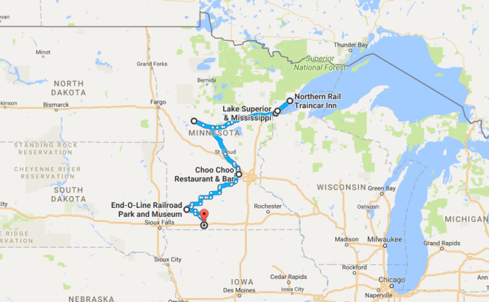 This TrainThemed Road Trip In Minnesota Is Unforgettable