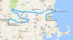 This Dreamy Road Trip Will Take You To The Best Fall Foliage In All Of Massachusetts