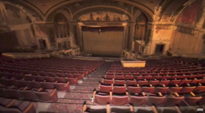 Nobody Knows Why The Lights Are Still On At This Abandoned Haunted Theater