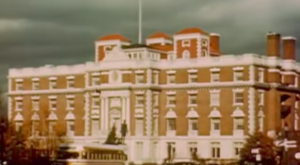 Rare Footage In The 1950s Shows Washington In A Completely Different Way