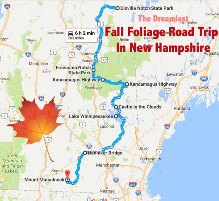Our Journey Starts Way Up North And Takes Us All The Way Down To The Massachusetts Border