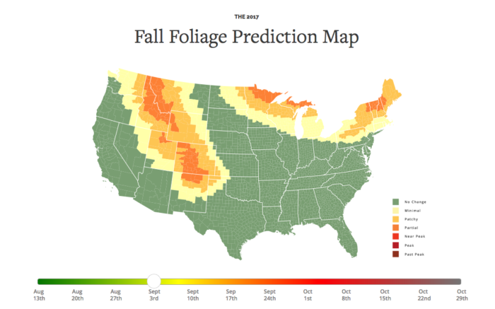 Here Are The Best Times And Places To View Fall Foliage In Ohio