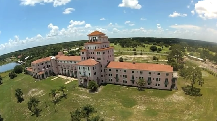 A Drone Flew High Above This Abandoned Hotel In Florida