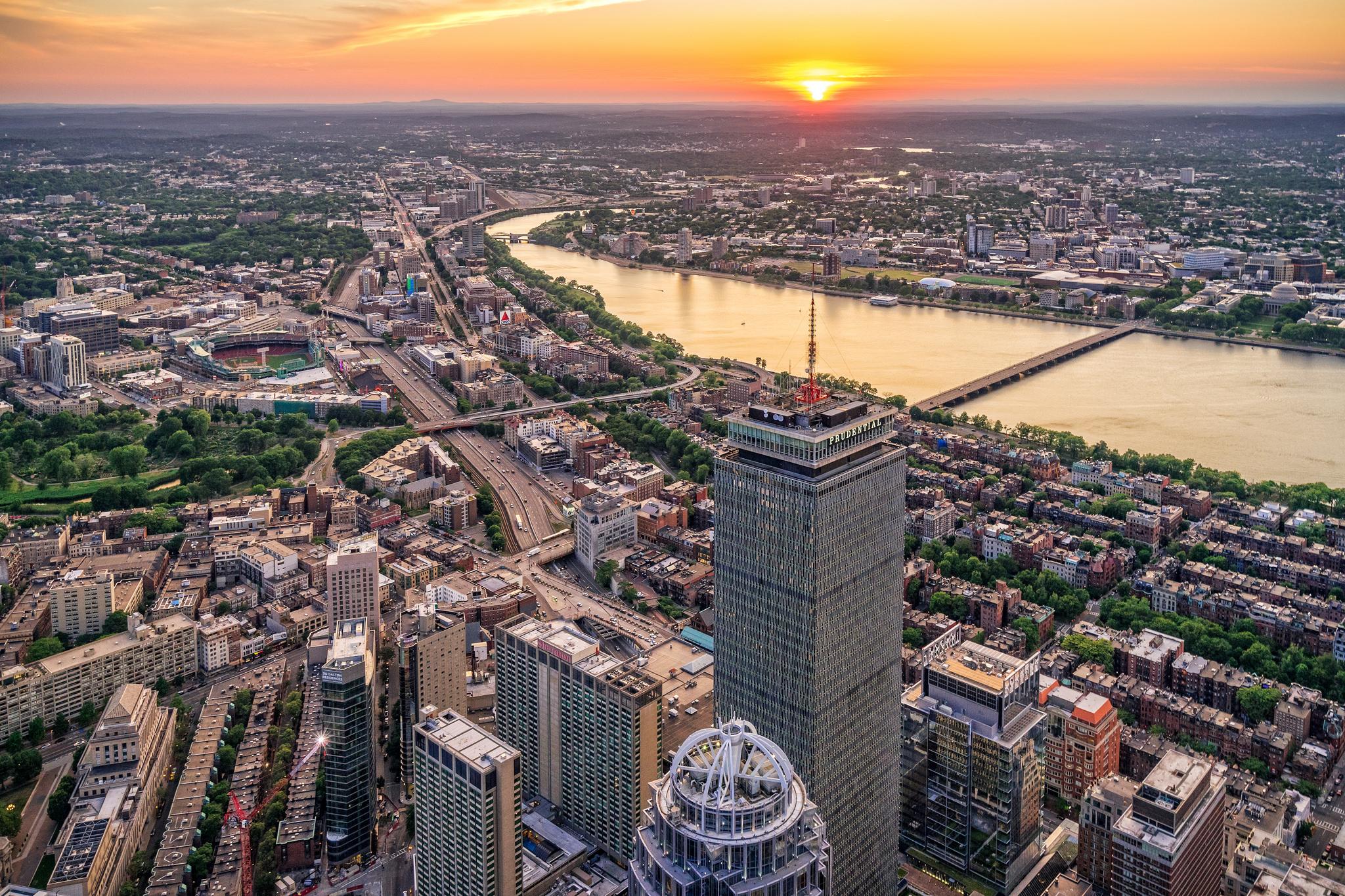 Rooms: 15 Best Aerial Views Of Boston