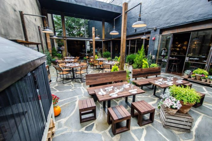 Restaurants with the best outdoor patios in washington dc