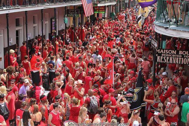 you wont want to miss the epic red dress run in new
