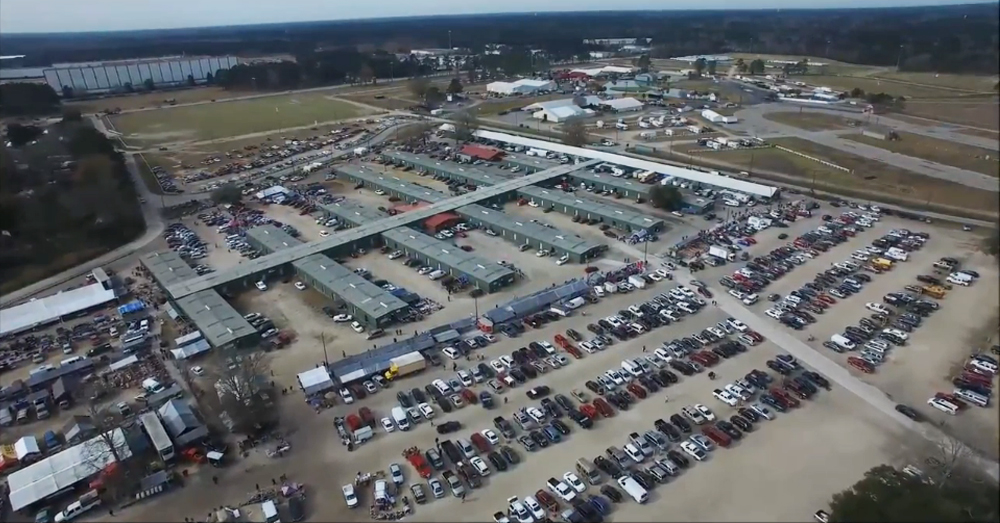 Coastal Carolina Flea Market In South Carolina Is The