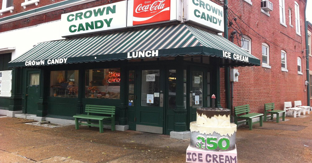Crown Candy Kitchen Is The Best Candy Store In St. Louis