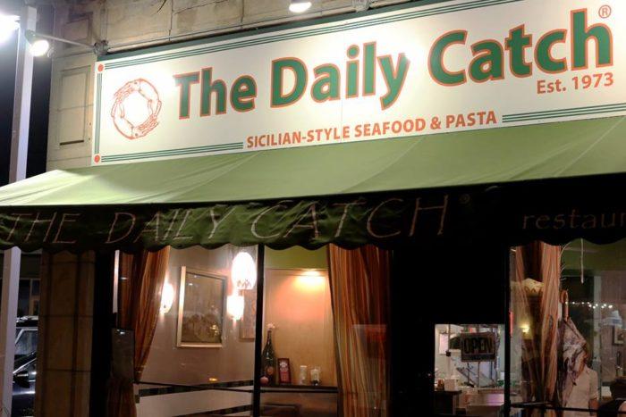 The Daily Catch Restaurant Hanover Street Ma Menu