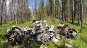 This Idaho Hike Leads To An Abandoned WWII Aircraft And Most People Don't Even Know About It