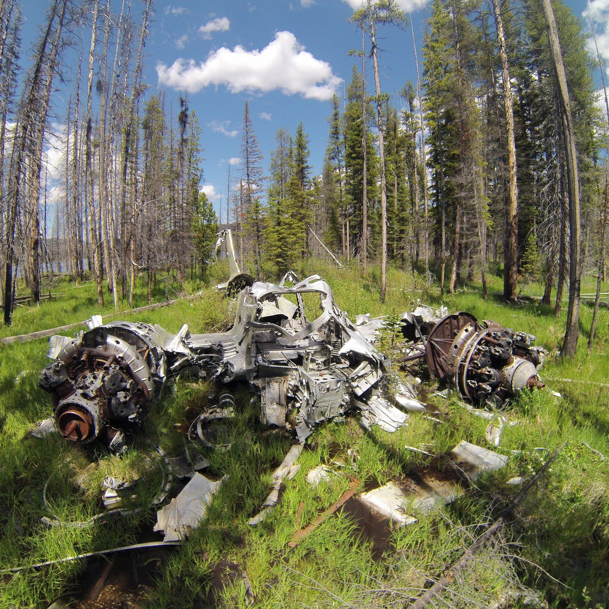 Hike To Loon Lake In Idaho Leads You To An Abandoned Plane