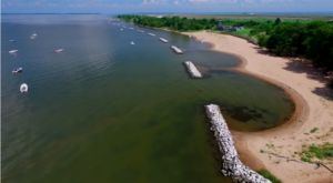 This Hidden Beach Near Baltimore Will Take You A Million Miles Away From It All