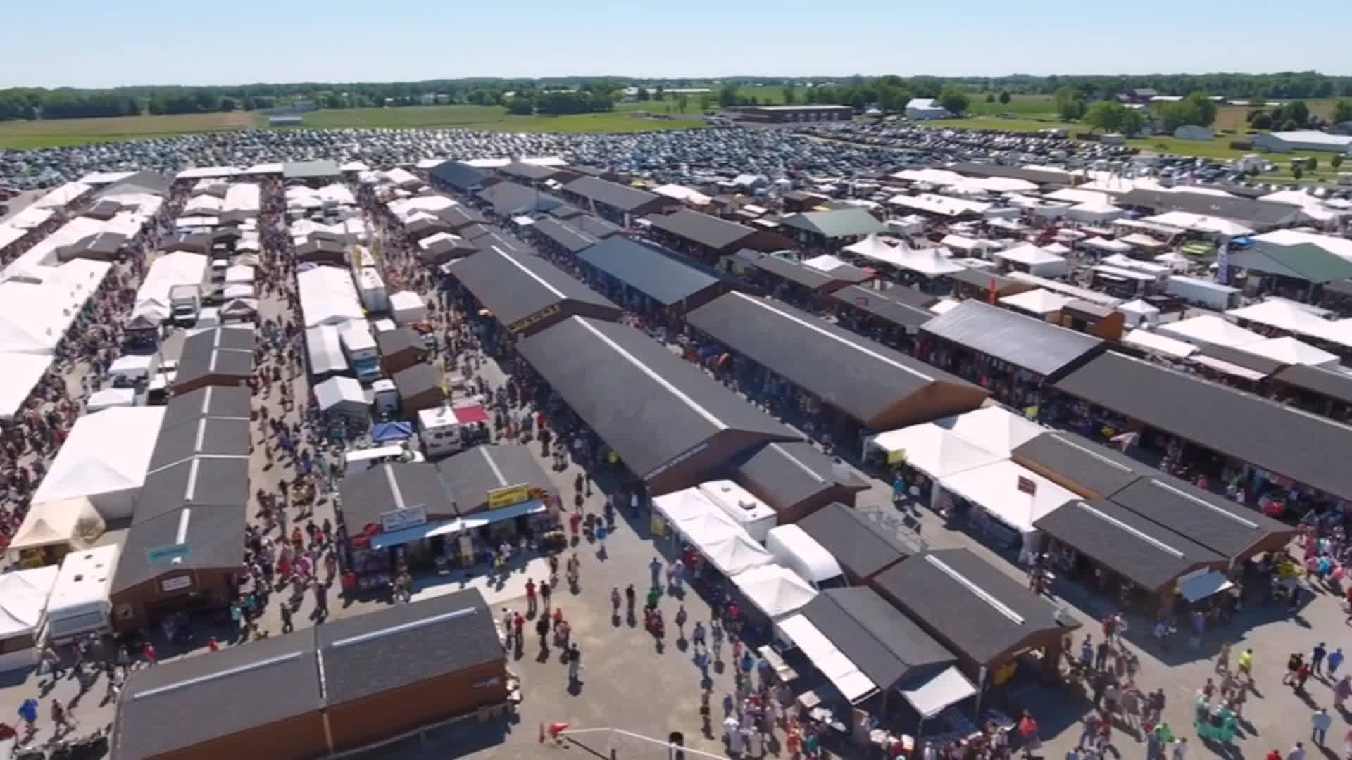 The Shipshewana Market Is The Largest Outdoor Flea Market