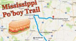 Follow This Mississippi Po' Boy Trail For An Unforgettable, Tasty Road Trip