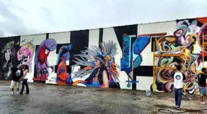 You Can't Miss This Epic 17-Mile Graffiti Festival In Texas