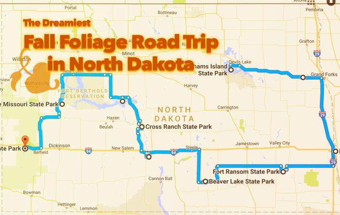 North Trip 2017 Best In Fall Foliage The Dakota Road