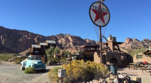 This Nearly Abandoned Nevada Mining Town Has A Truly Nefarious Past