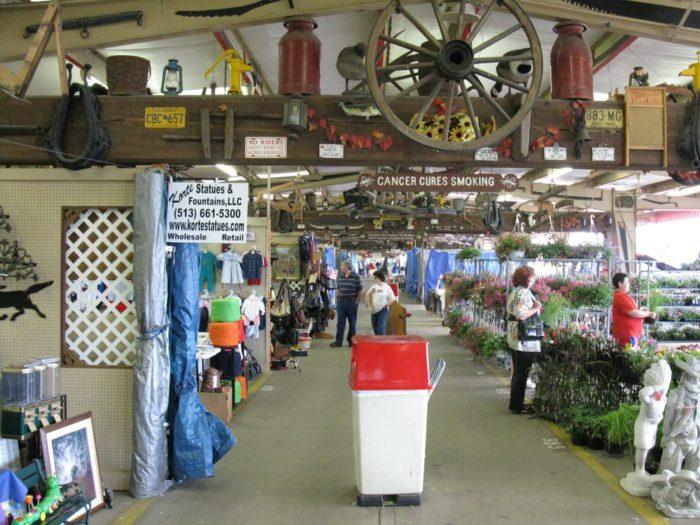 Traders World Ohio >> The Best Flea Market In Ohio: Traders World In Lebanon